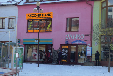 second hand poprad m
